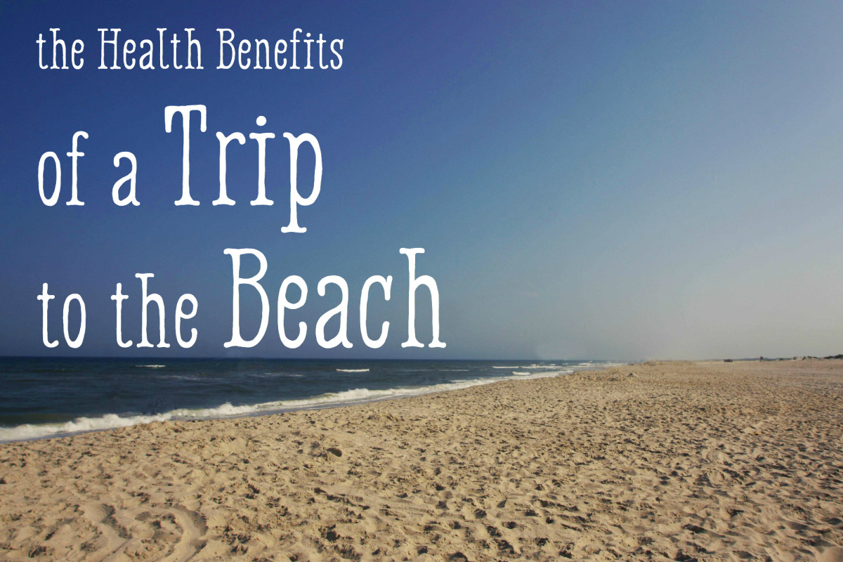 Health Benefits of the Beach and Sea Water to Skin and Hair