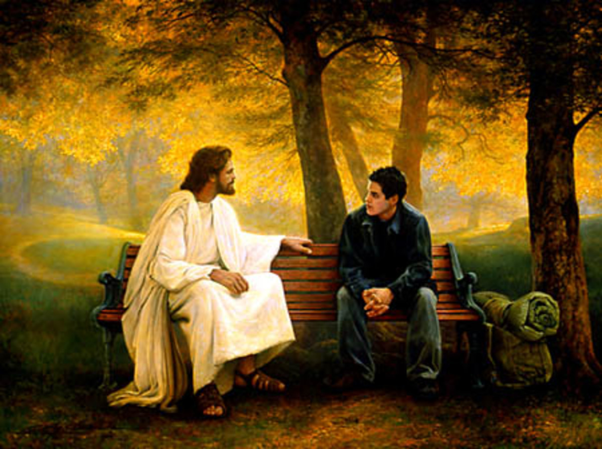 A conversation with the Lord...