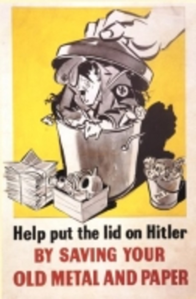 Poster to encourage recycling