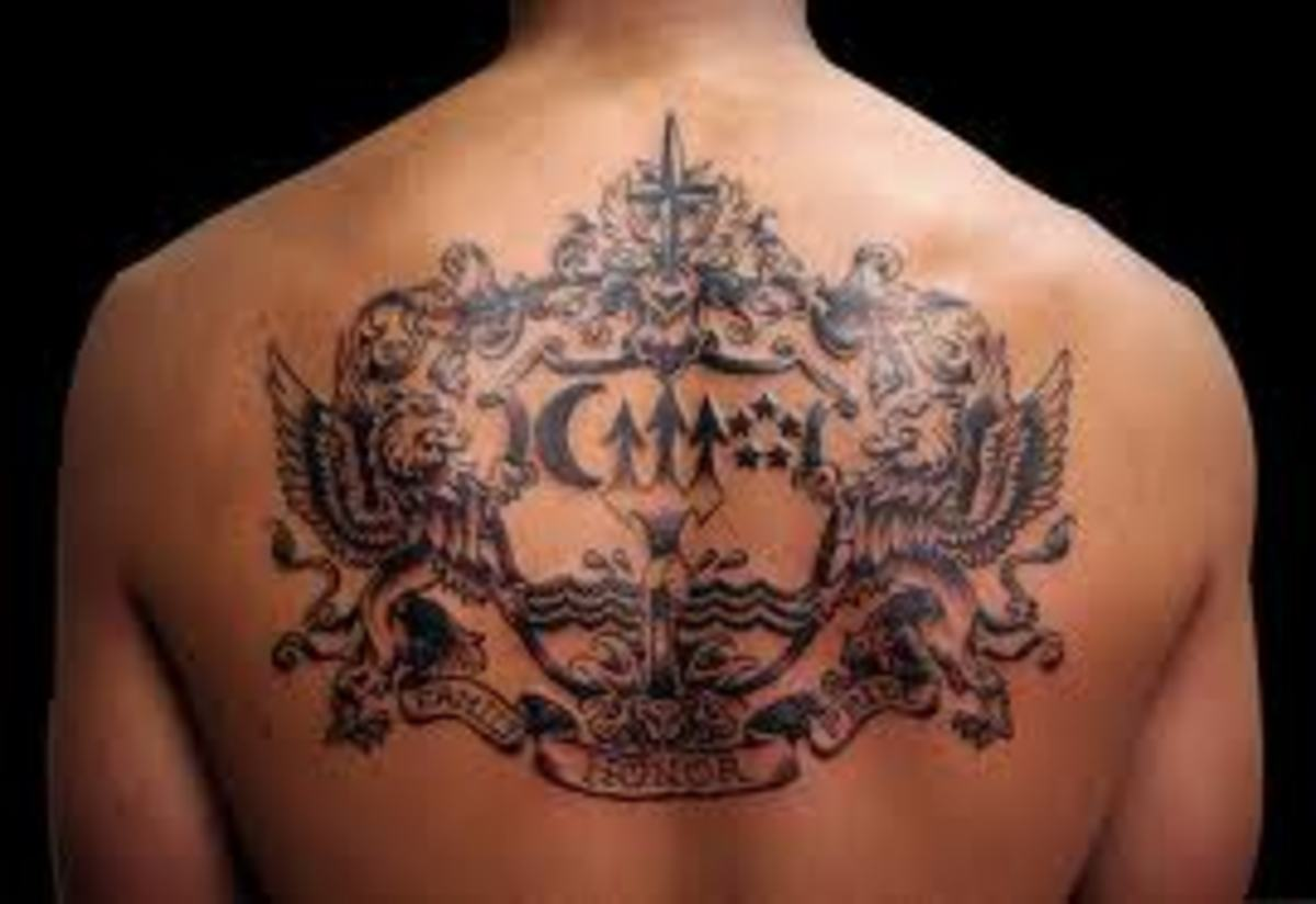 Coat of Arm Tattoos And Meanings-Family Crest Tattoos And Meanings-Coat of Arm Tattoo Designs And Ideas