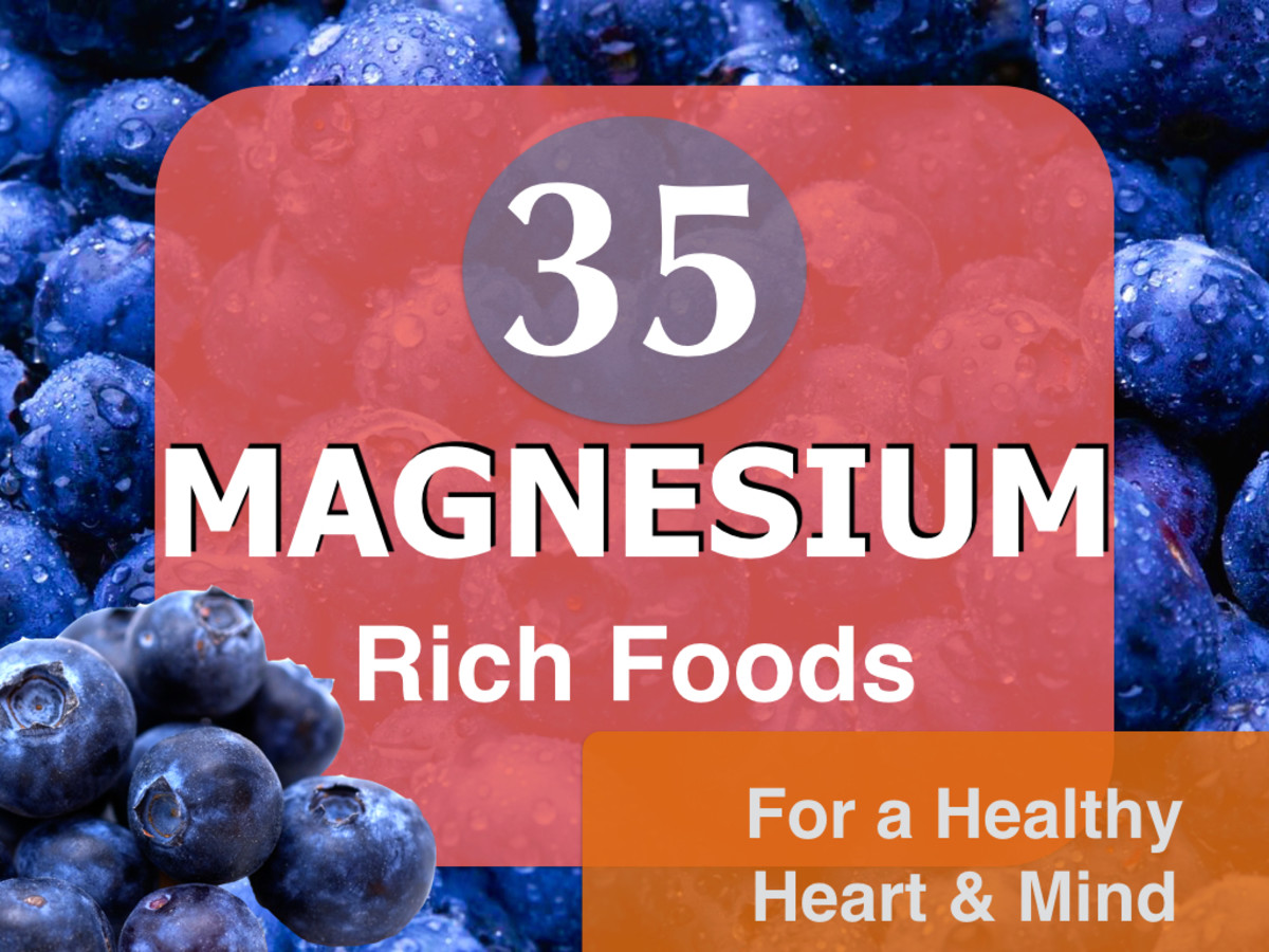 Magnesium rich foods help combat fatigue and moodiness.