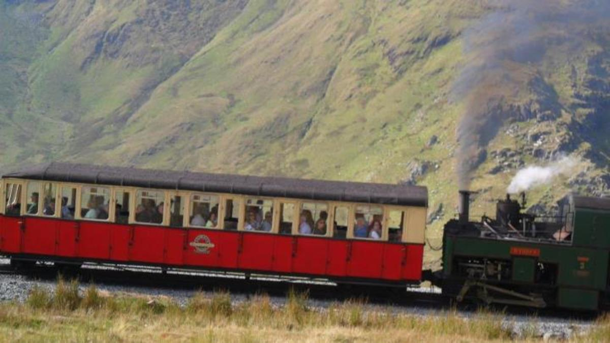 If you don't fancy a walk up Snowdon, why not take the train up Snowdon!