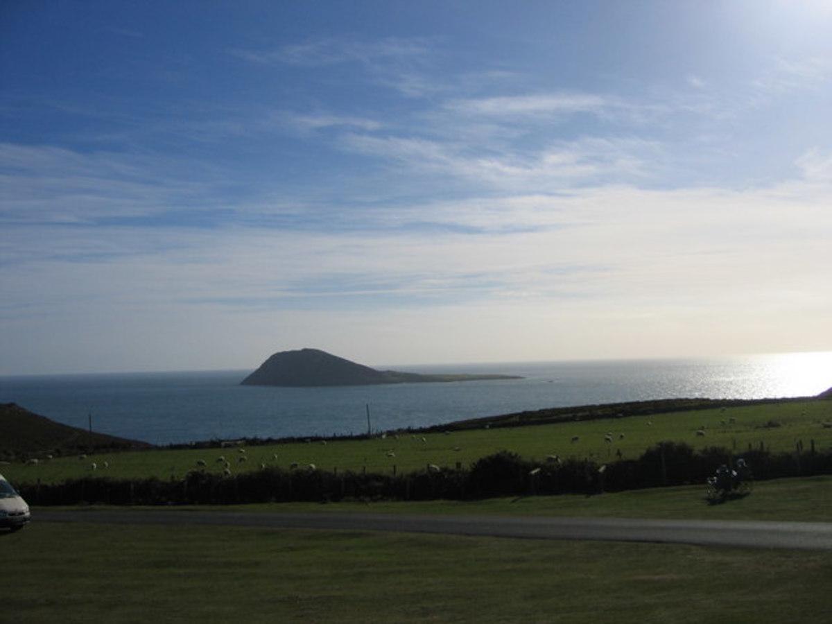 Bartsey Island from Pen Llyn
