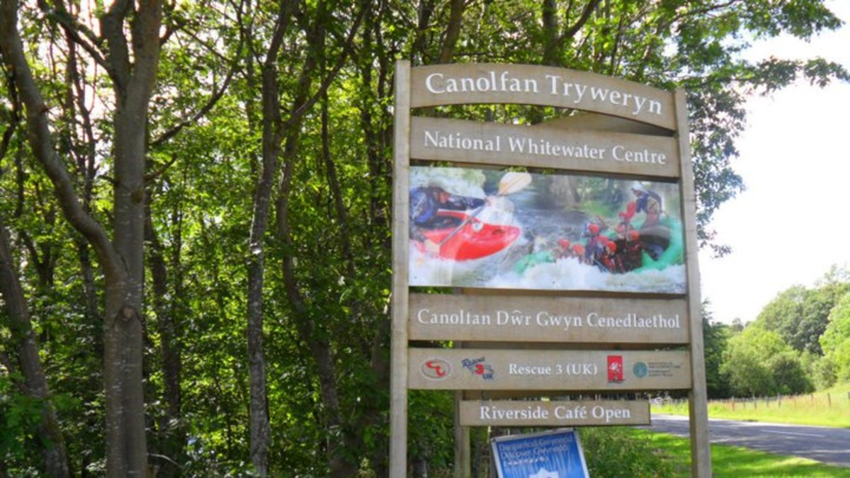 Come white water-rafting at Tryweryn!
