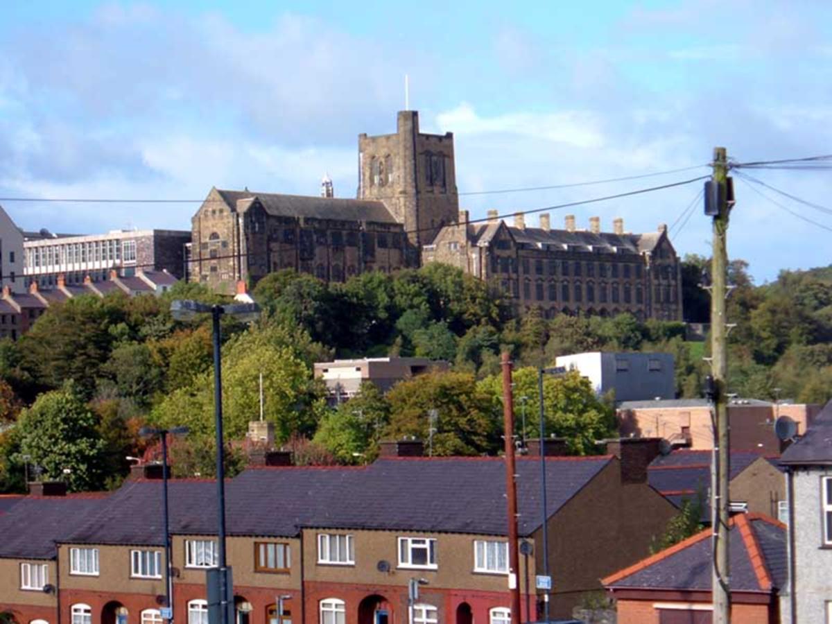 Bangor University in the City of Bangor
