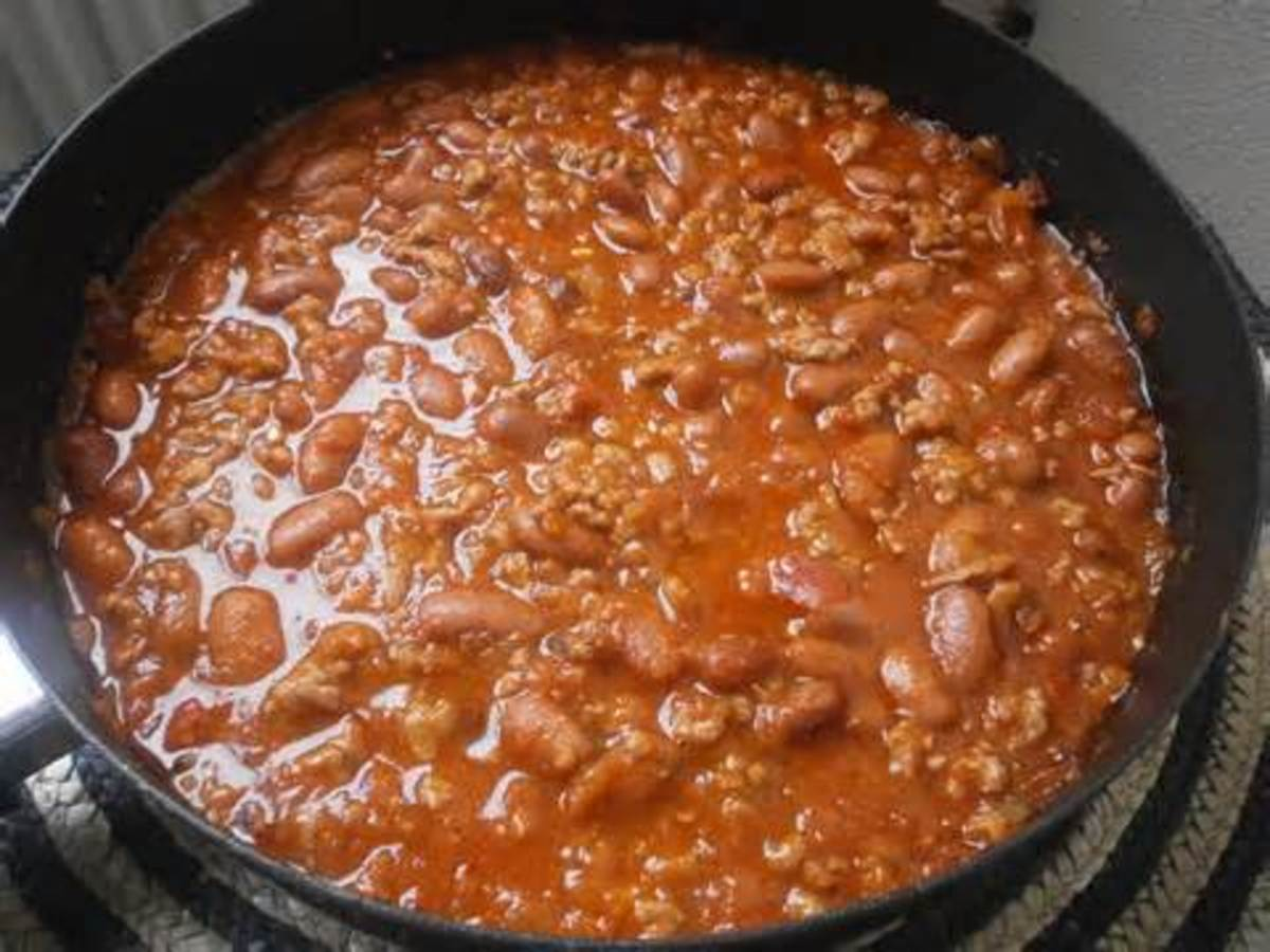Bear N Mom Recipes - Chili Con Carne