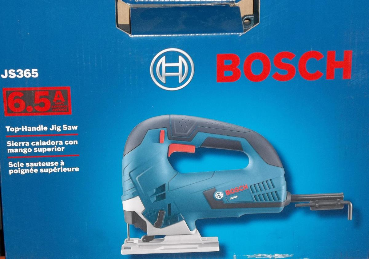 Bosch power tools.