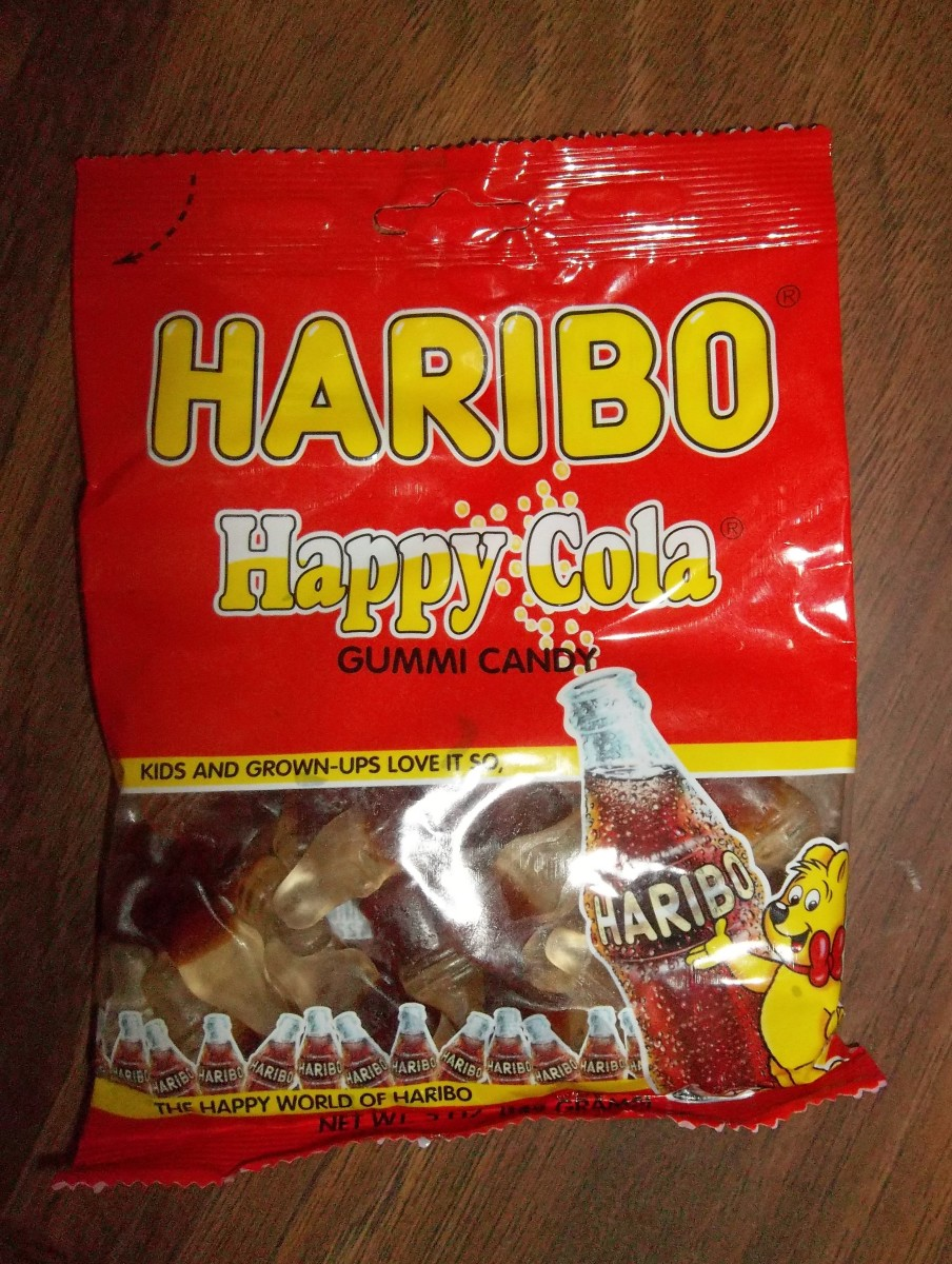 Haribo, German gummies.