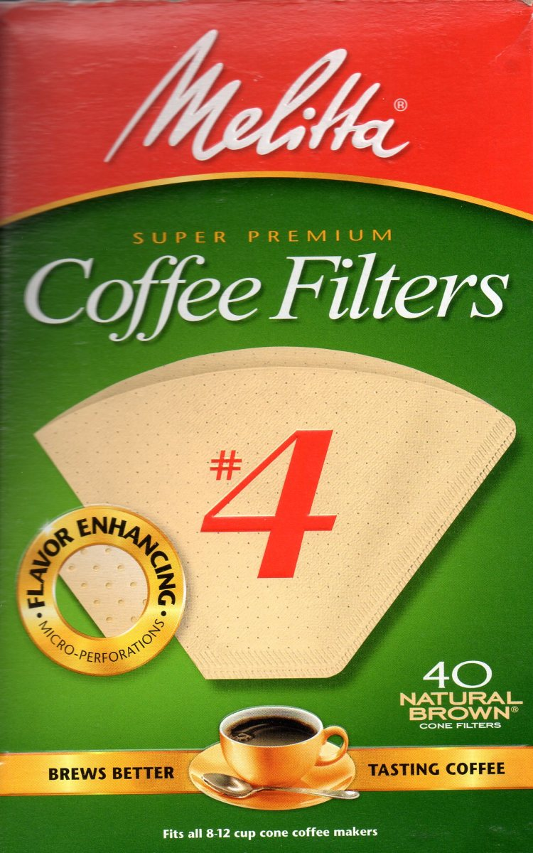 Melitta coffee filters. Made in the USA, but a German company.