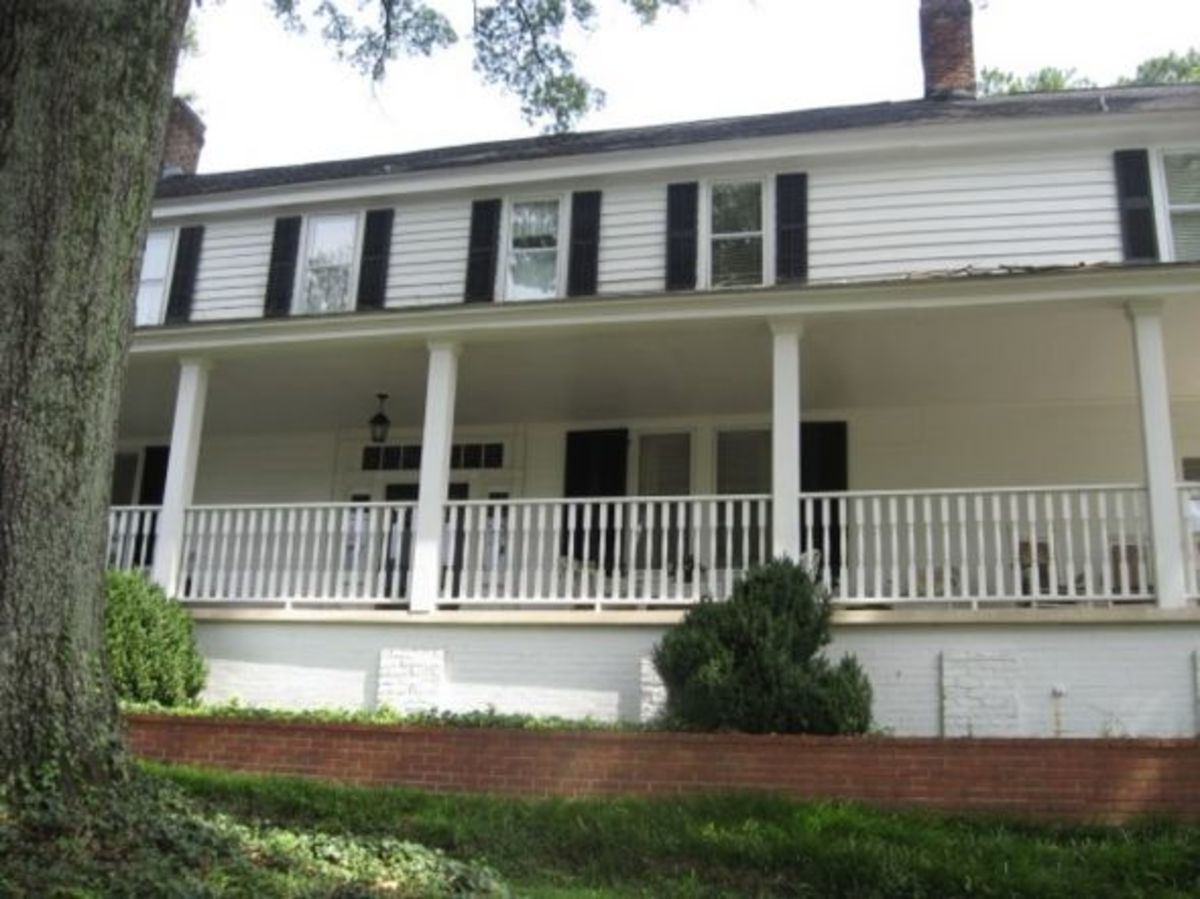 Boxwood Historic House in Pendleton SC