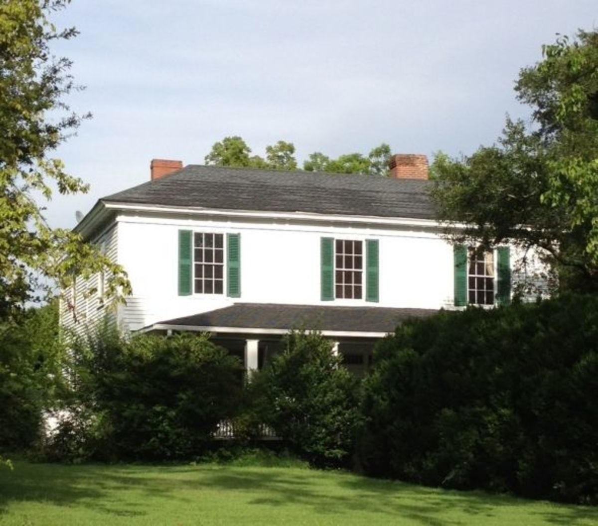 Poe House in Pendleton SC