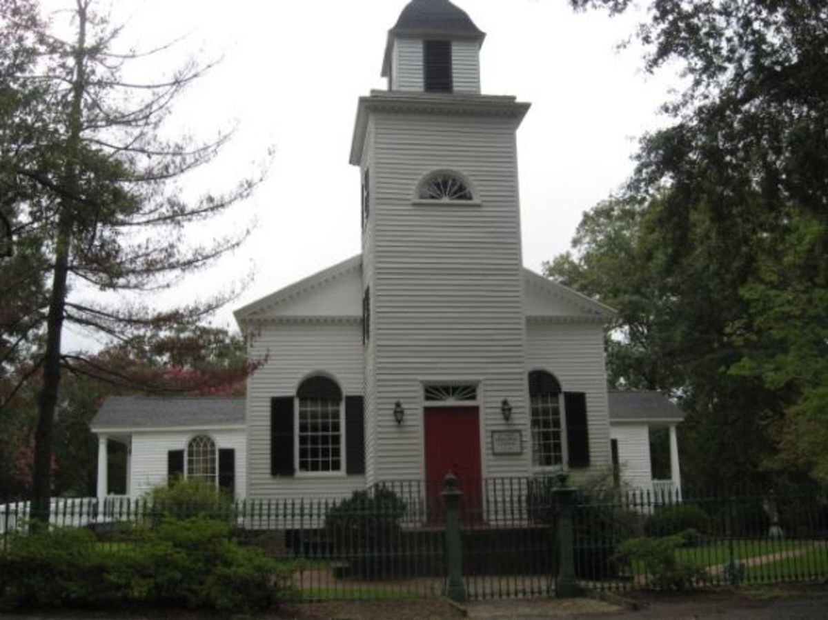 St. Paul's Episcopal Church in Pendleton SC
