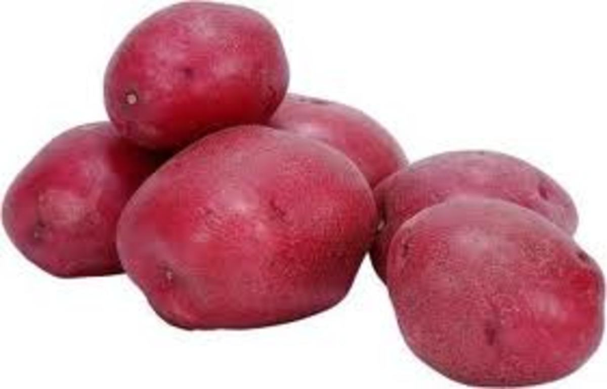 Red Sangria Potato