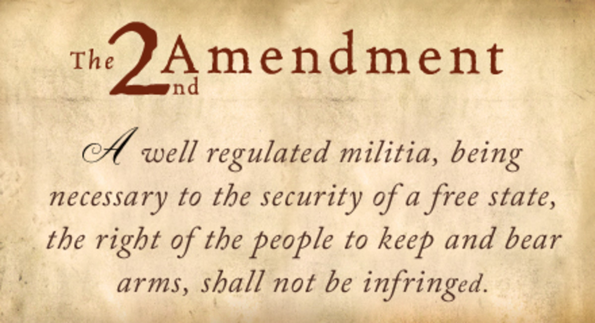 The 2nd Amendment Your Right To Bear Arms And Why You Should Never