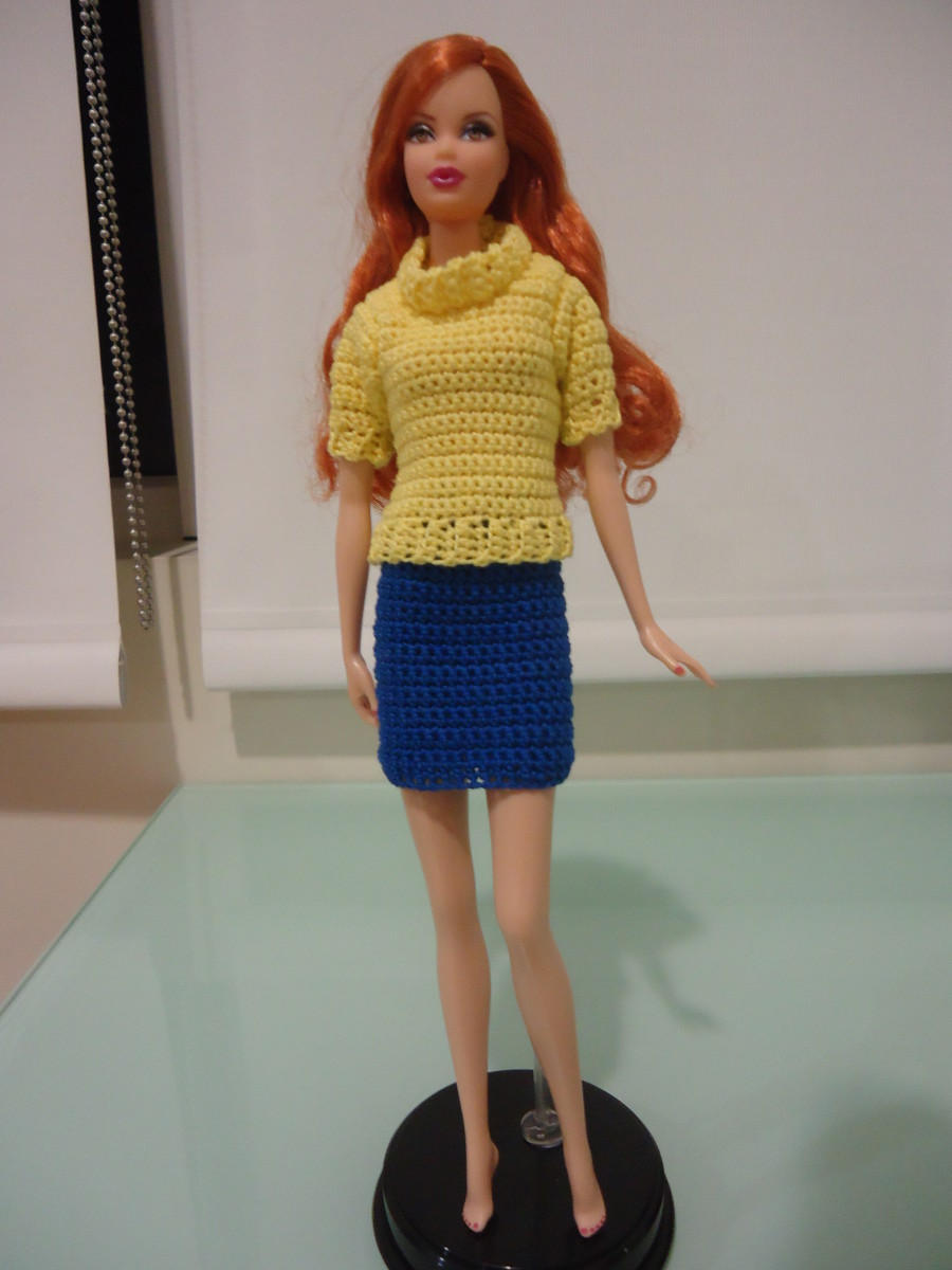 Barbie Doll Clothes Crafts