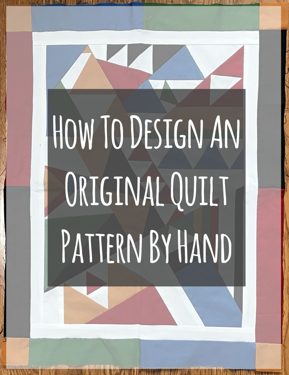 Learn everything you need to know to design your own original quilt pattern by hand.