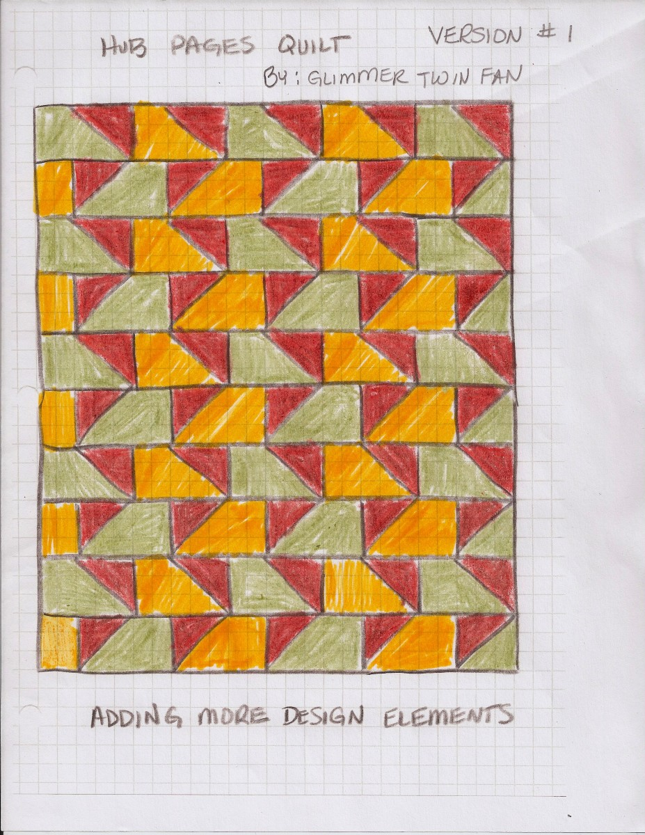 Here's one version of an original quilt.