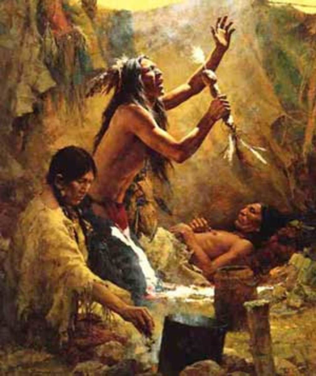 Native Americans Helped the Europeans when they Suffered Disease