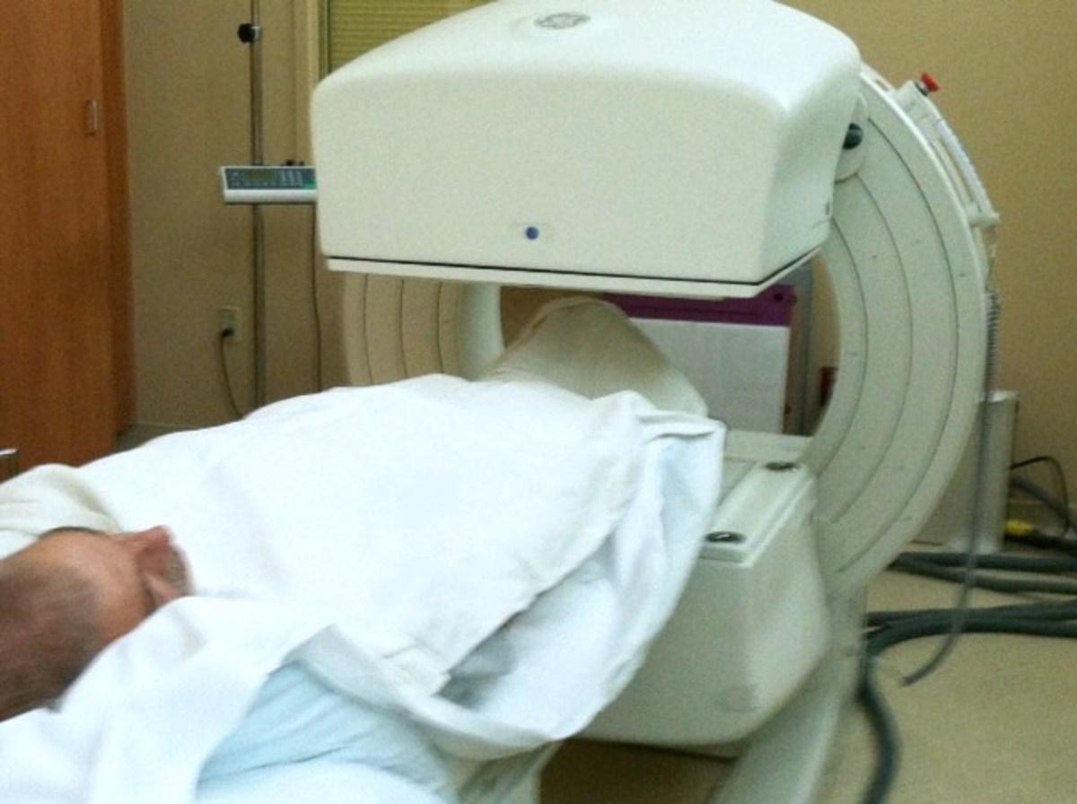 Bone scan is over!