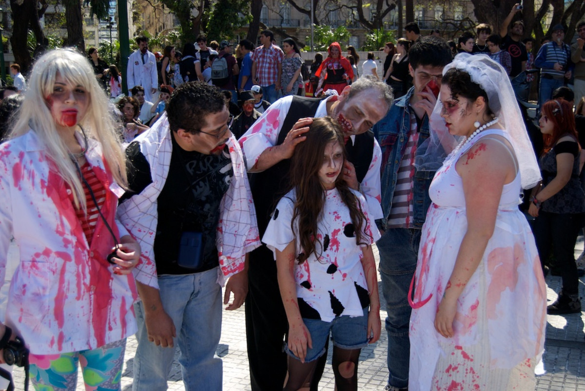 A family of zombies