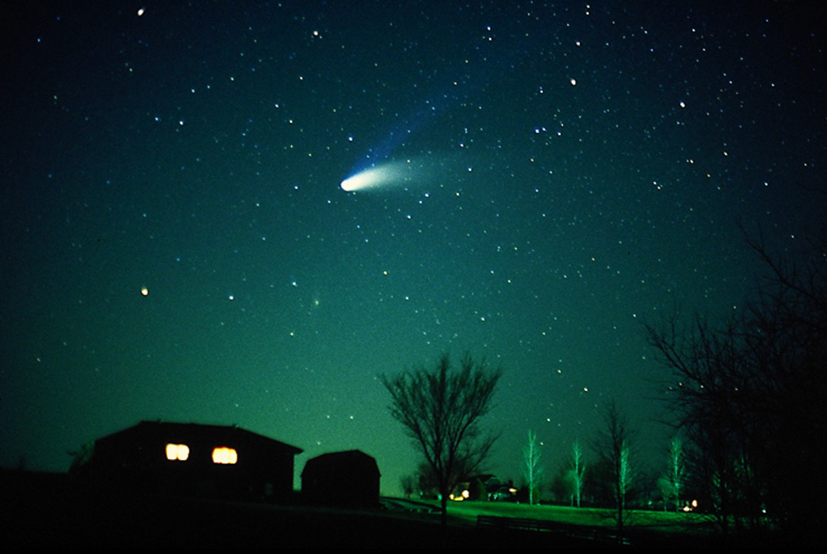Comet Hale-Bopp, Niburu, The Second Moon, Planet X, Wormwood, Comet Elenin