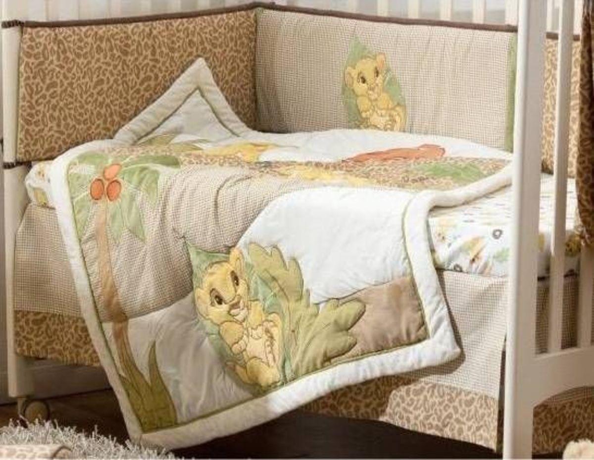 Disney Lion King 4 piece Crib Bedding Set. Lion King Nursery Theme  D cor and Ideas   HubPages