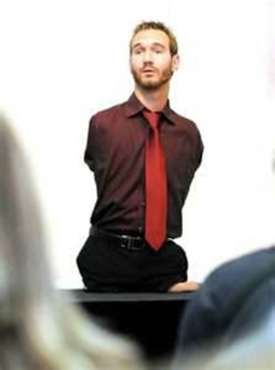 Nick Vujicic, Living Life With Purpose