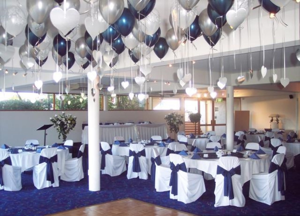 Wedding color schemes for 2015 hubpages for Balloon decoration color combinations