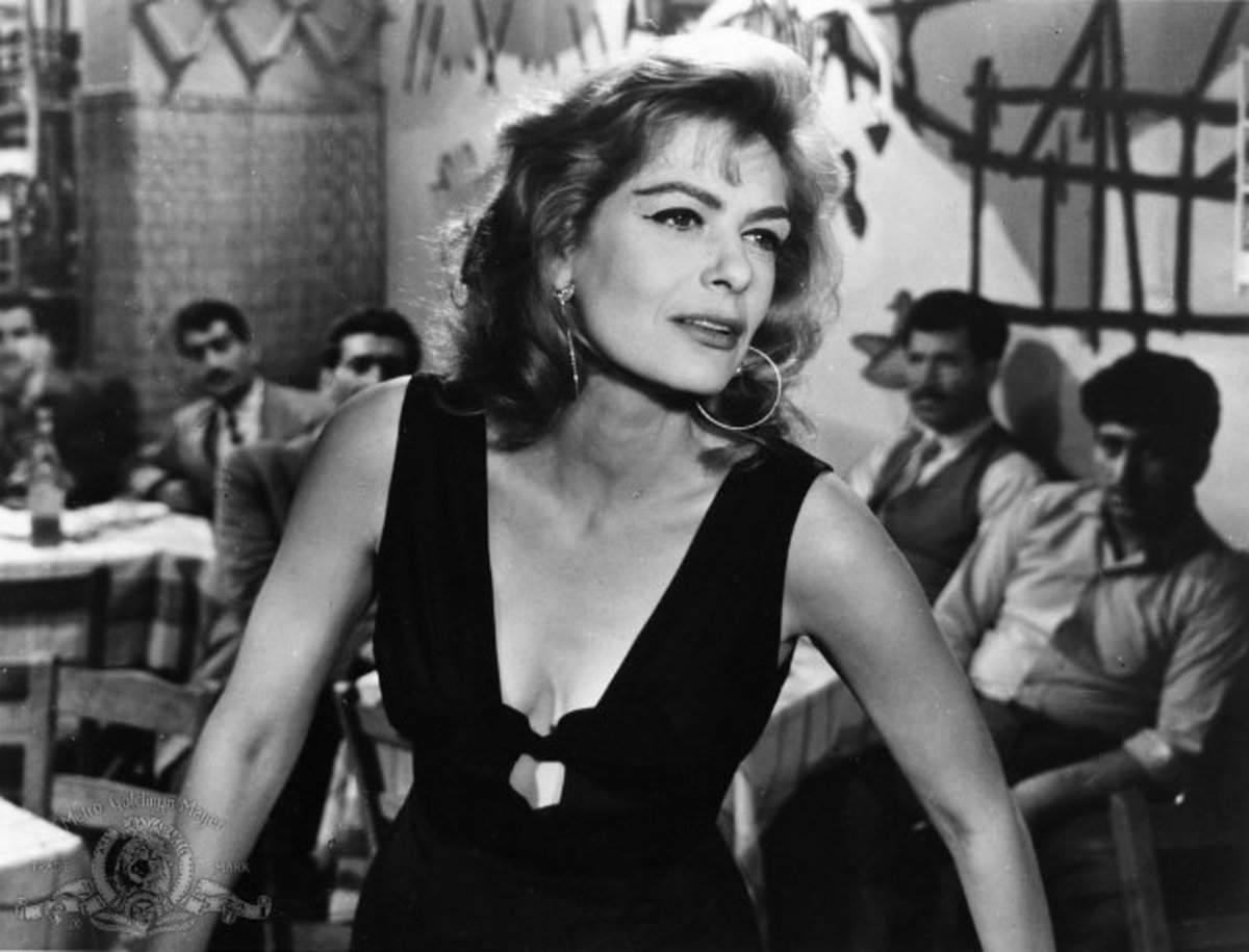 Melina Mercouri from the film 'The Children of Piraeus'