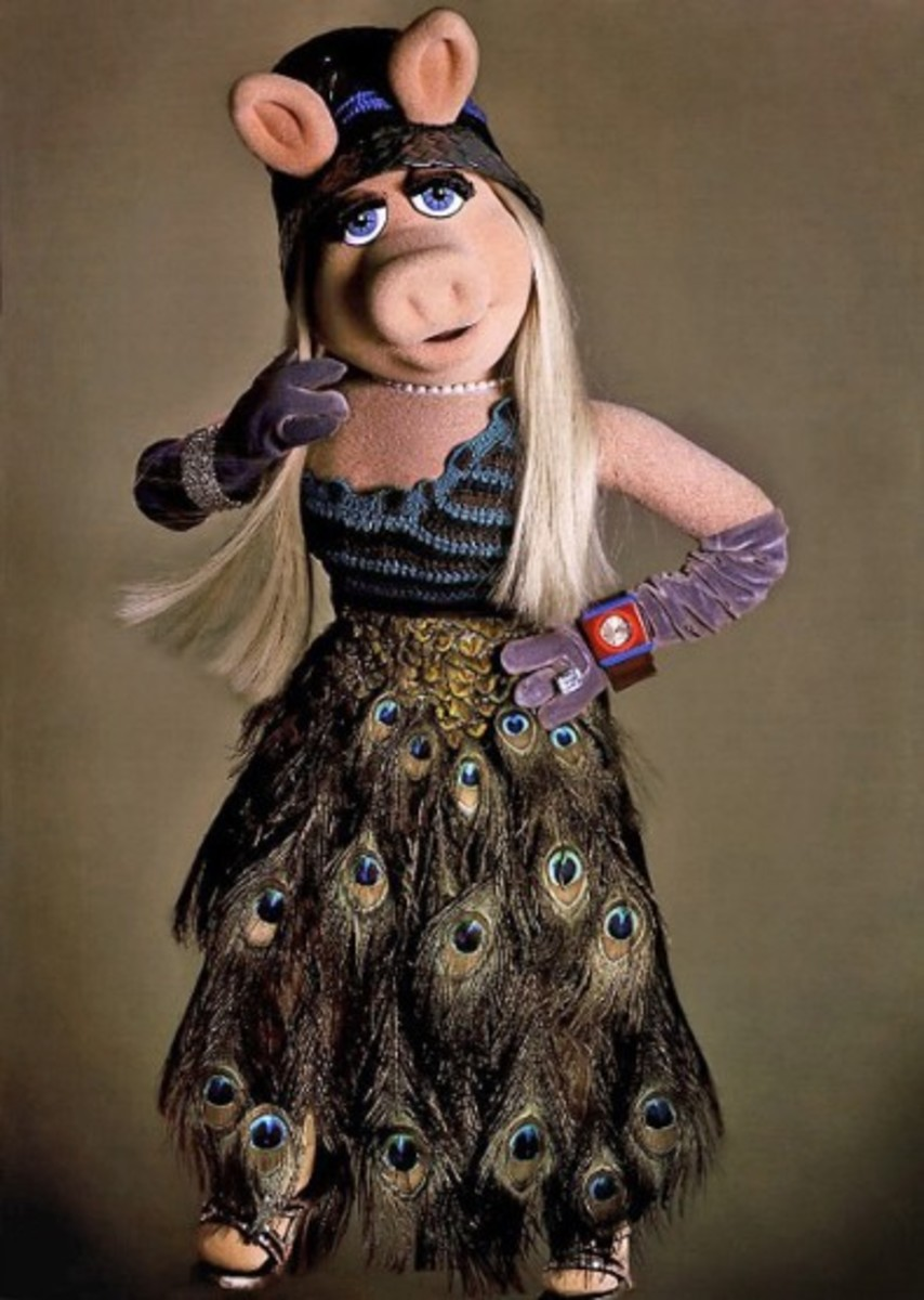 Miss Piggy in Prada