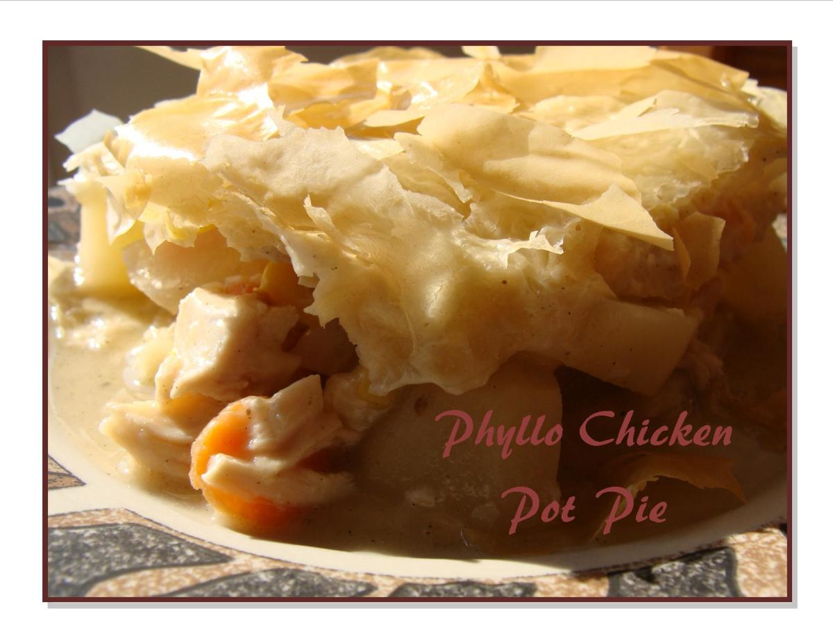 Phyllo Chicken Pot Pie Recipe