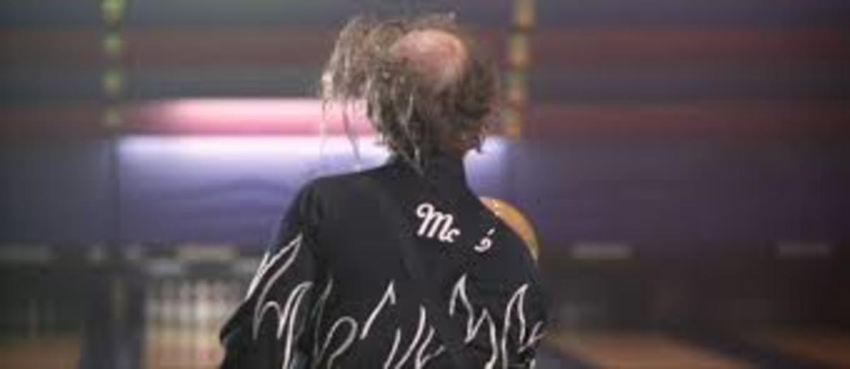 Big Ern (Bill Murray in Kingpin) with the ultimate comb over