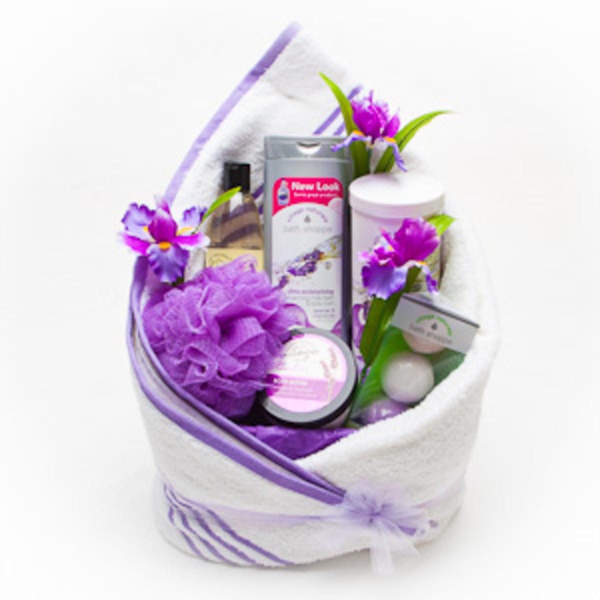creating-a-spa-gift-basket