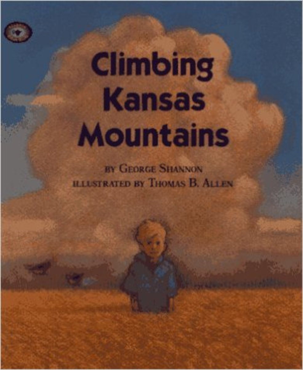 Climbing Kansas Mountains (Aladdin Picture Books) by George Shannon