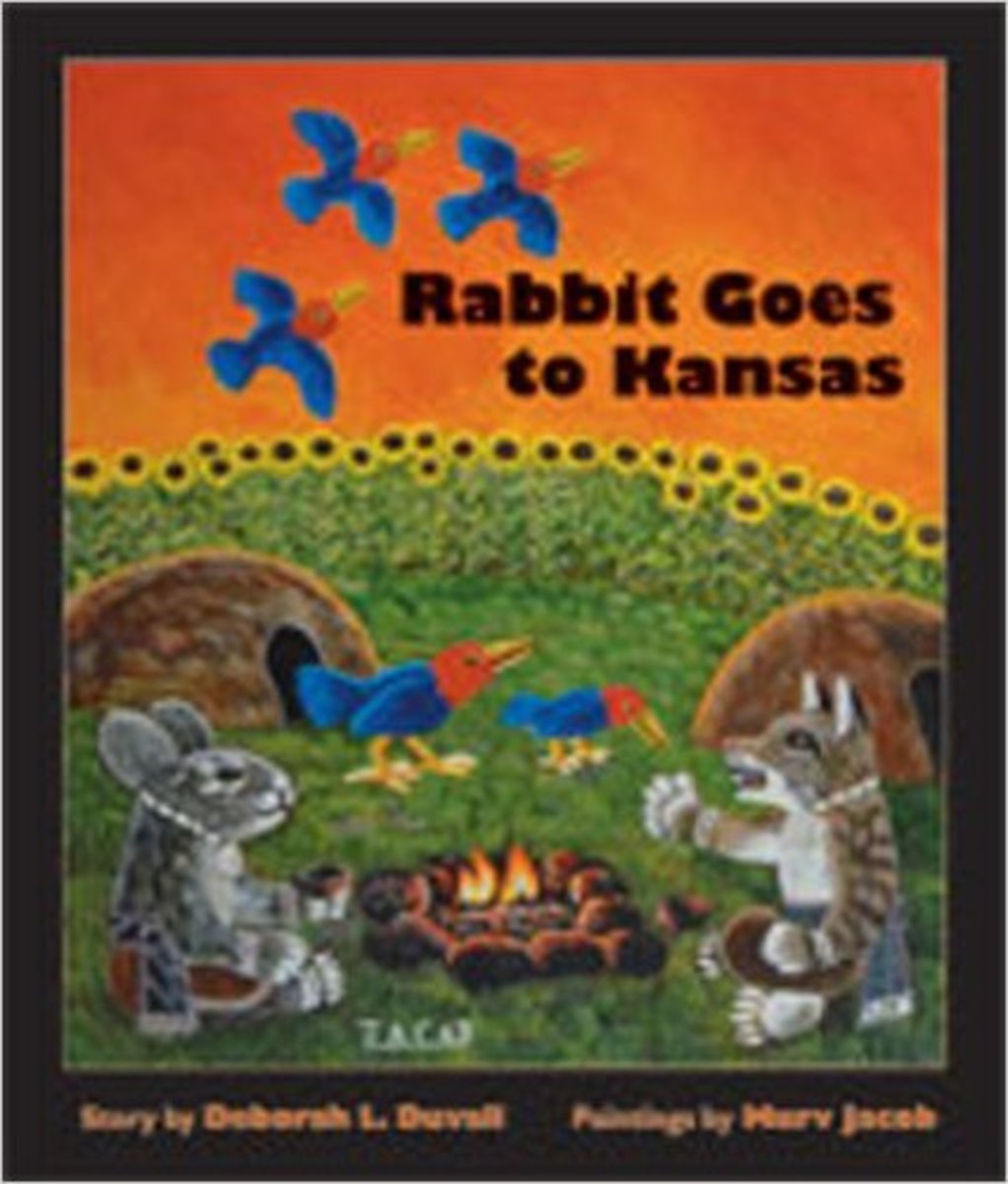 Rabbit Goes to Kansas by Deborah L. Duvall