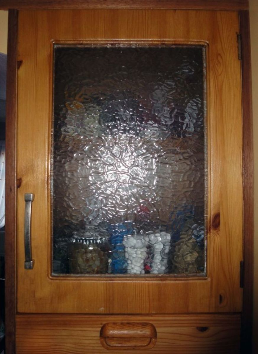 Kitchen Larder Door