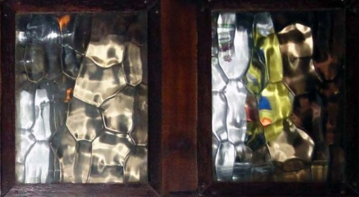 Recycling Salvaged Window Glass for DIY Projects