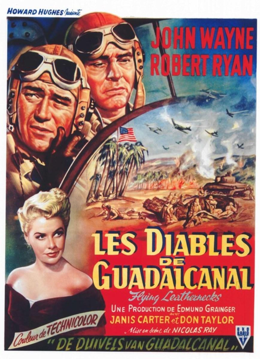 Flying Leathernecks (1951) Belgian poster