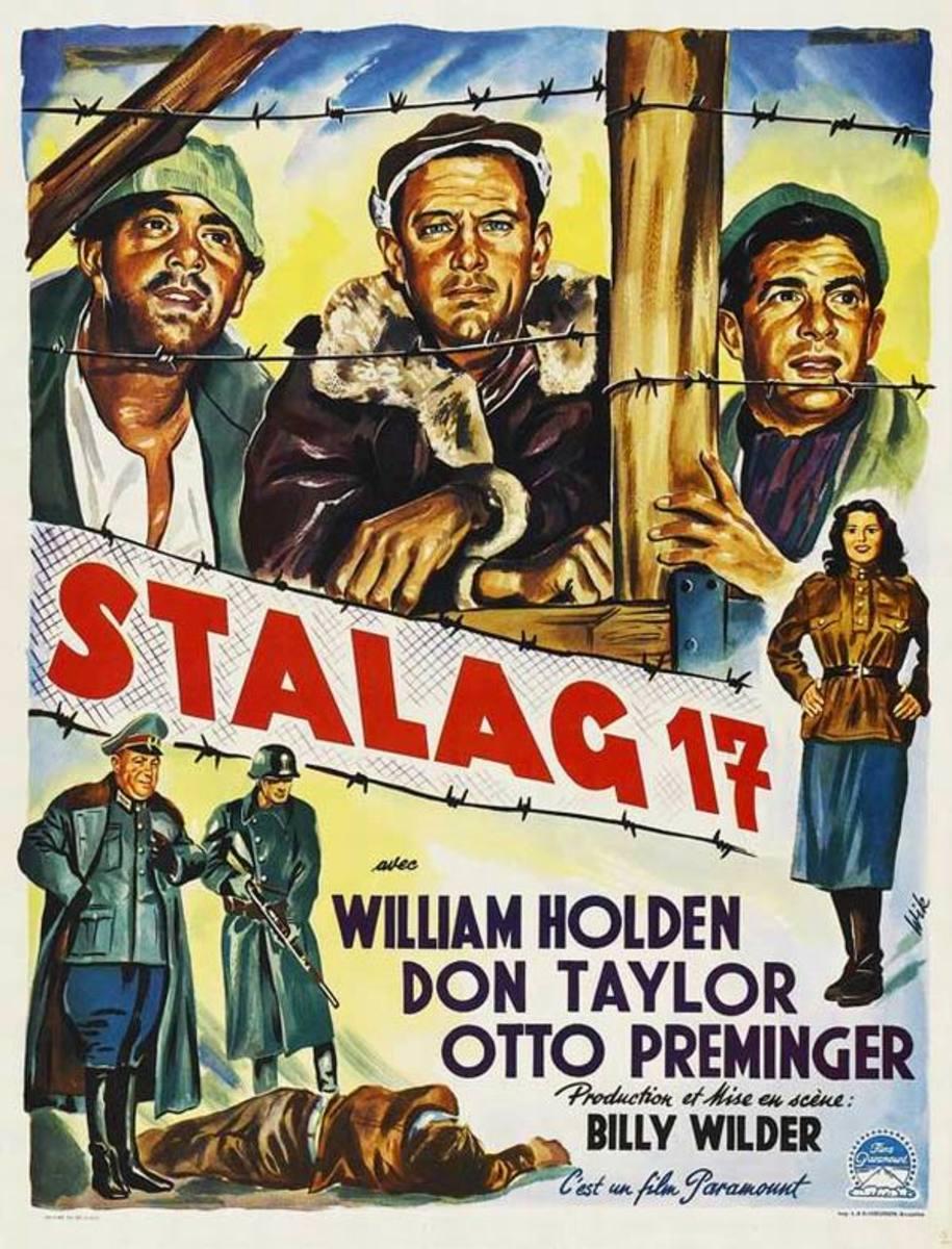 Stalag 17 (1953) Belgian poster