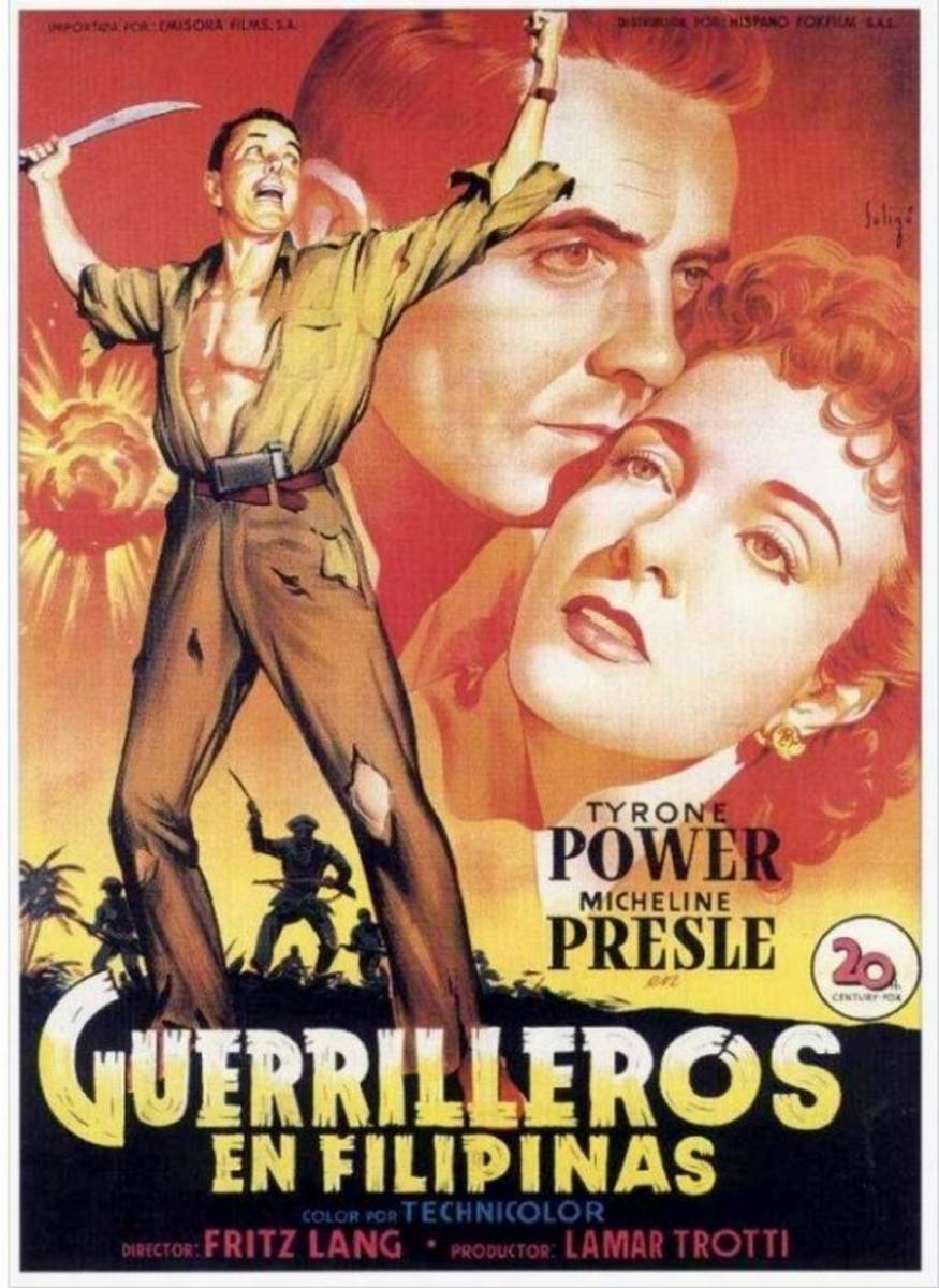 American Guerilla in the Philippines (1950) Spanish poster