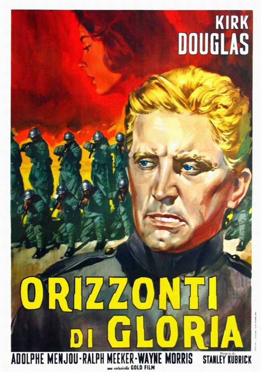 Paths of Glory (1957) Italian poster