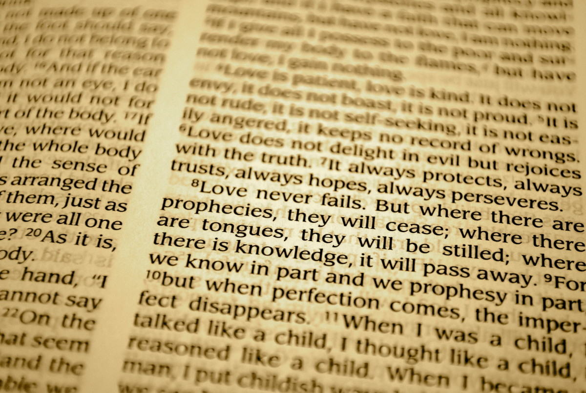 1 Corinthians Ch. 13
