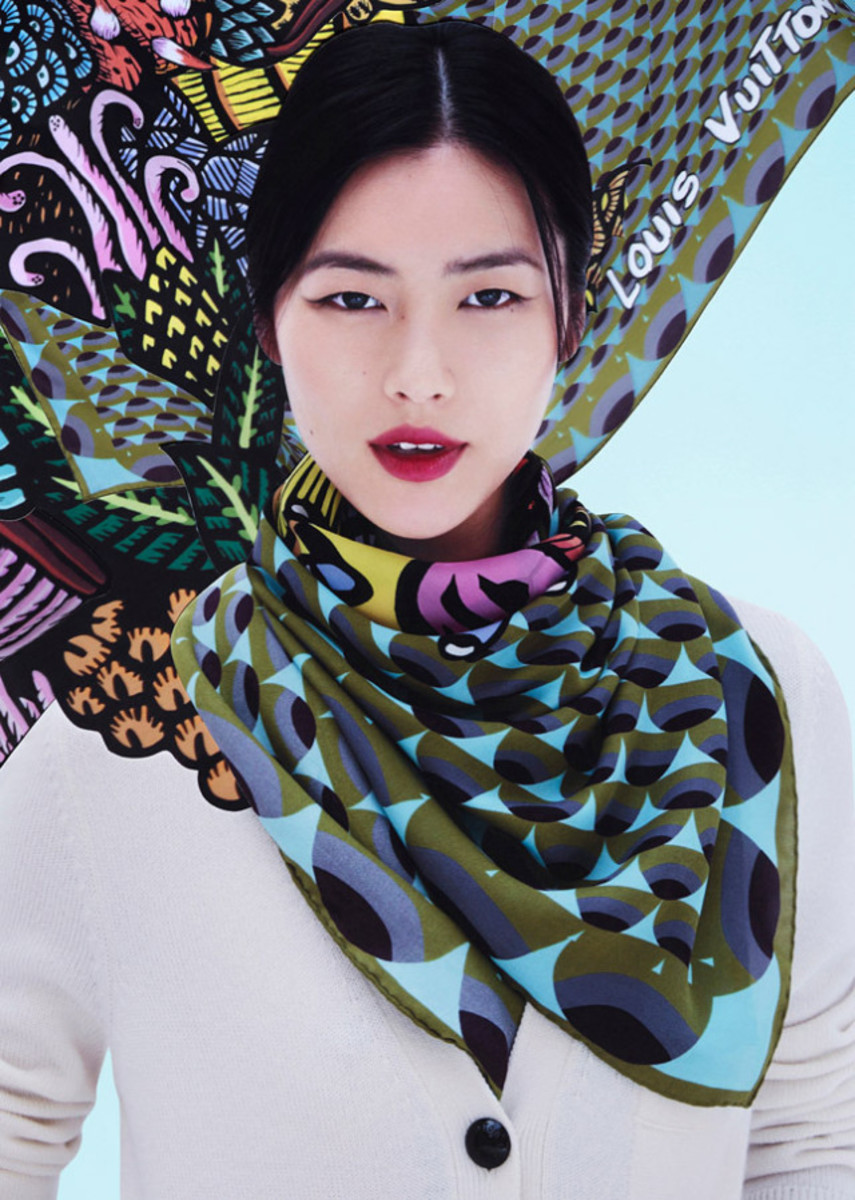 Liu Wen for Louis Vuitton, Fall/Winter 2013