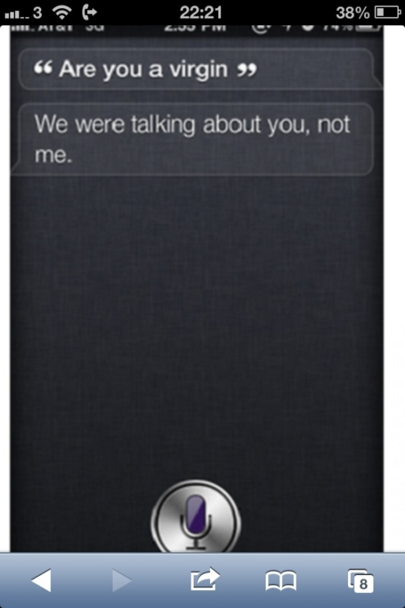 Are you a virgin Siri?