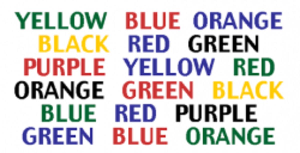 Colour Words