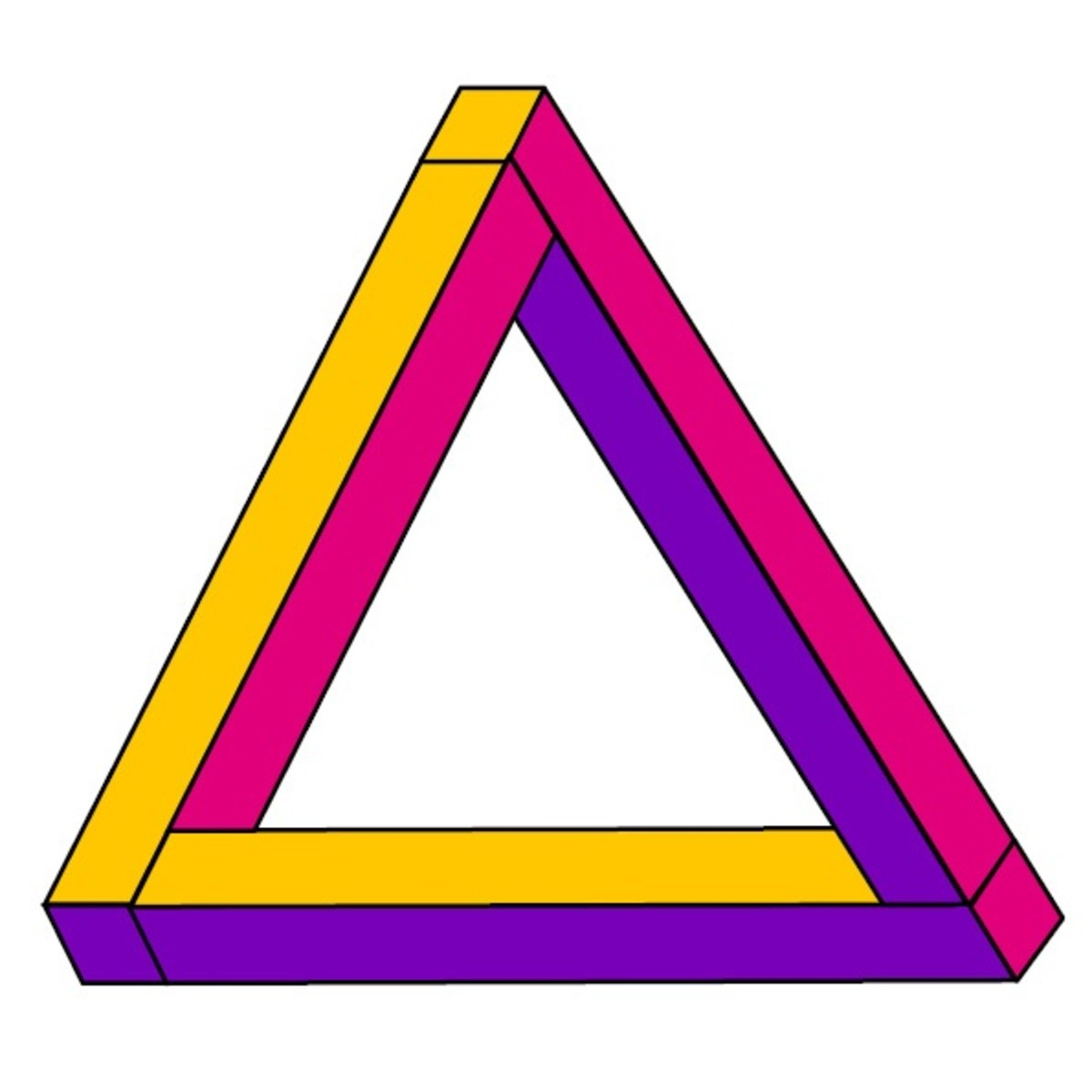 The impossible triangle