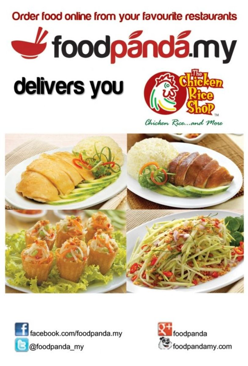 Food delivery from Chicken Rice Shop