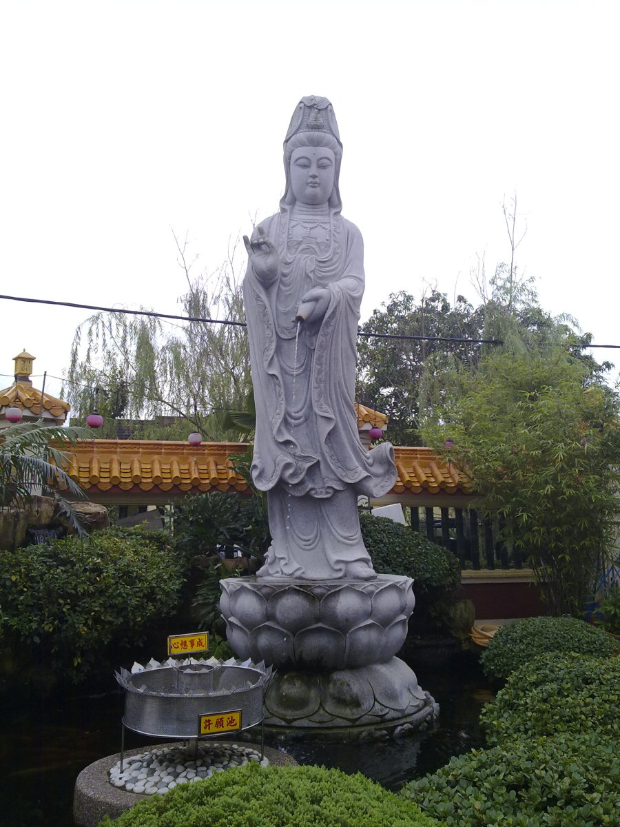 Magnificient Kuan Yin Statue , also known as Goddess of Mercy