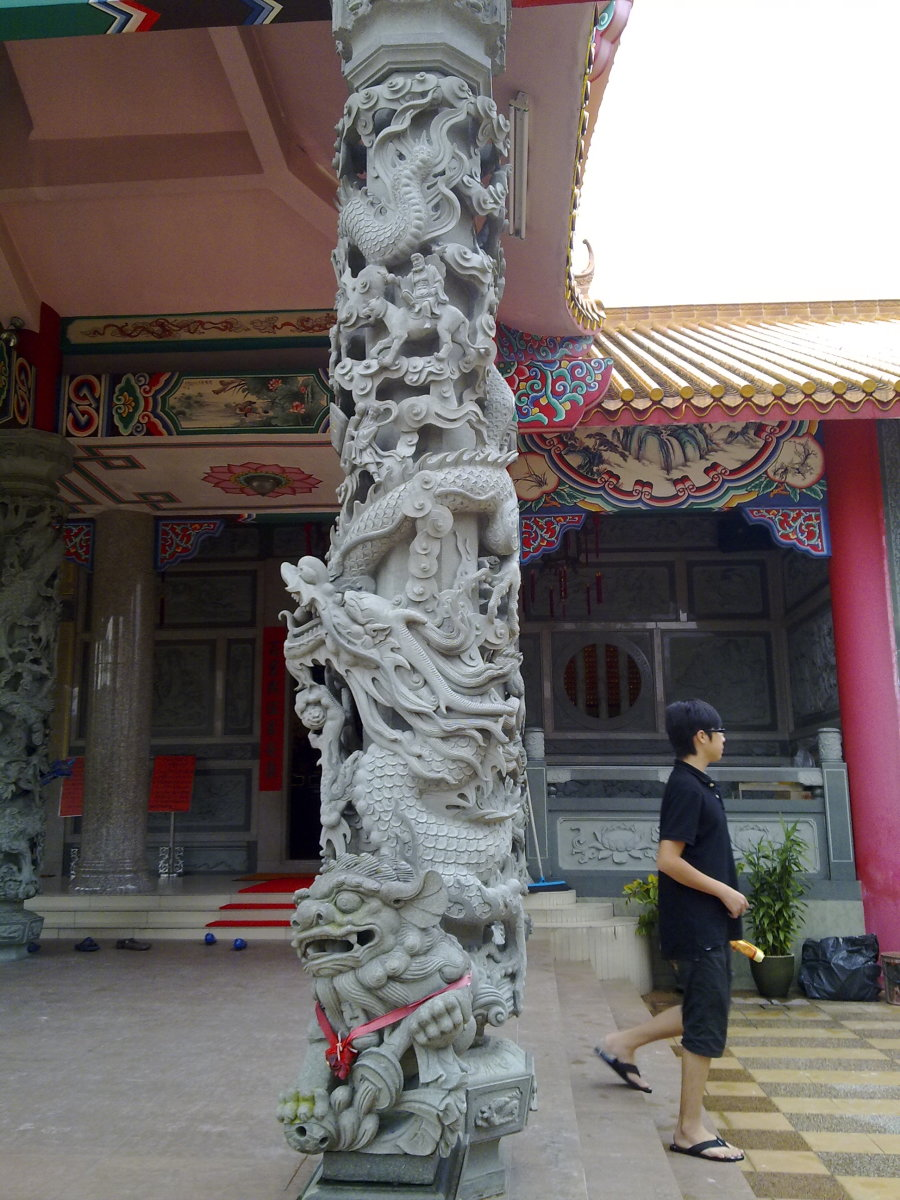 Awesome Dragon pillar