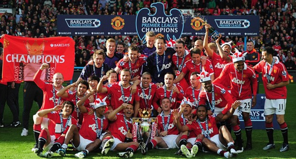 Most English Premier League Titles - Manchester United